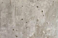 texture horizontal de las tarjetas del pino nudoso Muro de cemento Pared sin pintar Pared gris concreta Foto de archivo libre de regalías