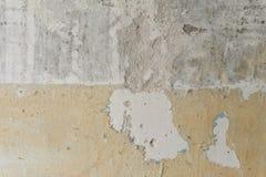 texture horizontal de las tarjetas del pino nudoso Pared sucia Muro de cemento Pared sin pintar Imagen de archivo