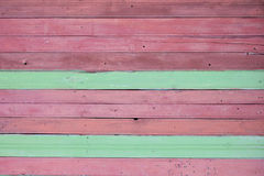 Texture horizontal wooden boards Royalty Free Stock Photography