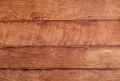 Texture horizontale de Brown de fond en bois de grain images libres de droits