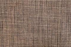 Texture horizontale de fond de modèle de textile de Brown photographie stock libre de droits