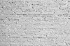 Texture horizontale du mur de briques blanc image stock