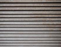 Texture horizontale en métal Photo stock