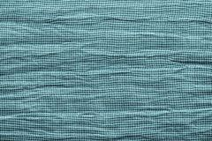 Texture of horizontally crumpled knitted fabric Stock Photography