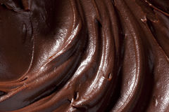 Texture of hot chocolate Stock Photography