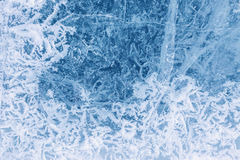Texture of ice Royalty Free Stock Image