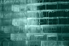 Texture ice. with colorful illumination Royalty Free Stock Image
