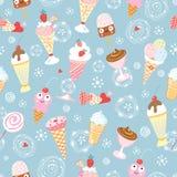 Texture of ice cream Royalty Free Stock Photos