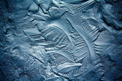 Texture of ice, frozen water Stock Image
