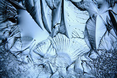 Texture of ice, frozen water natural  ice Royalty Free Stock Photos
