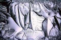 Texture of ice, frozen water Stock Photo