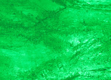 Texture of ice  with green back light. Royalty Free Stock Photography