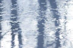 Texture of ice on lake Stock Photos