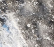 Texture of ice and snow background Stock Image