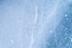 Texture of ice surface, frozen water royalty free stock photos