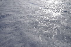 Texture of iced snow Royalty Free Stock Photo