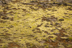 Texture of Icelandic mountains Royalty Free Stock Photo