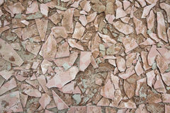 texture image of cracked tile Royalty Free Stock Images