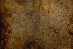 Texture industrielle sale superficielle par les agents en métal Image stock