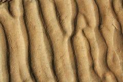 Texture inférieure de sable Photos libres de droits