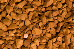 Texture of instant coffee Royalty Free Stock Images