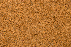 Texture from instant coffee Stock Images