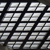 Texture of interior roofing skylight modern design Stock Photos