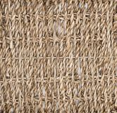 Texture of intertwined straw, basket, tree. Biodesign. Eco-friendly dishes. stock image