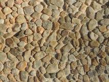 Texture of irregular stones Royalty Free Stock Image