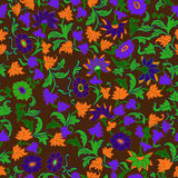 Texture in Islamic Foral Motif. Royalty Free Stock Photo