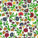Texture in Islamic Foral Motif. Stock Photo