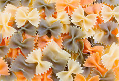 Texture of italian pasta Stock Photography
