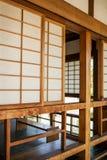 Texture of Japanese sliding paper door Shoji Royalty Free Stock Photography