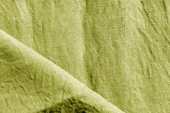 texture jaune abstraite de coton Images libres de droits