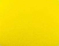 Texture jaune d'éponge Photos libres de droits