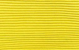 Texture jaune de chandail images stock