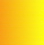 Texture jaune de point Photo stock