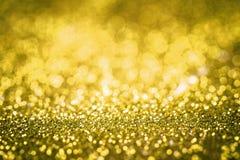 Texture jaune de scintillement photos libres de droits