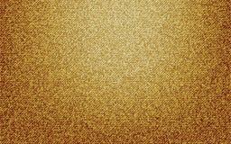 Texture jaune de vecteur de jeans Image stock