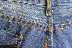 Texture of jean Stock Image