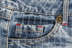 Texture Jean Stock Image
