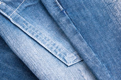 Texture jeans Stock Images