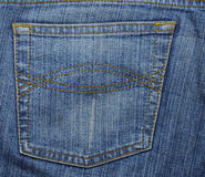 Texture of jeans Royalty Free Stock Image