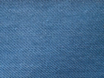 Texture of jeans. Close up of blue jeans texture background Royalty Free Stock Photo
