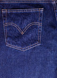 Texture of jeans Stock Photography