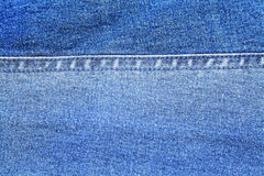 Texture of jeans as a background Royalty Free Stock Images