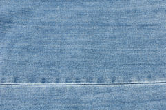 Texture of jeans cloth Royalty Free Stock Photos