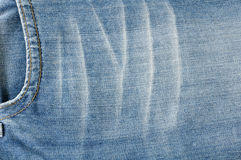 Texture of jeans cloth Royalty Free Stock Photo