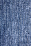 Texture of jeans material Royalty Free Stock Photography