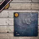 Texture jeans Royalty Free Stock Photography